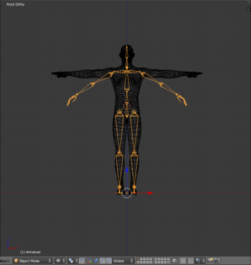 how to manually rig a 3d model in unity