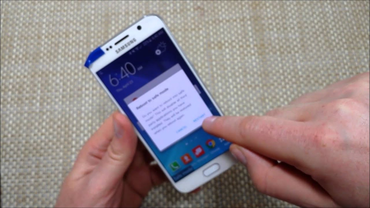 how to manually turn off samsung galaxy s6