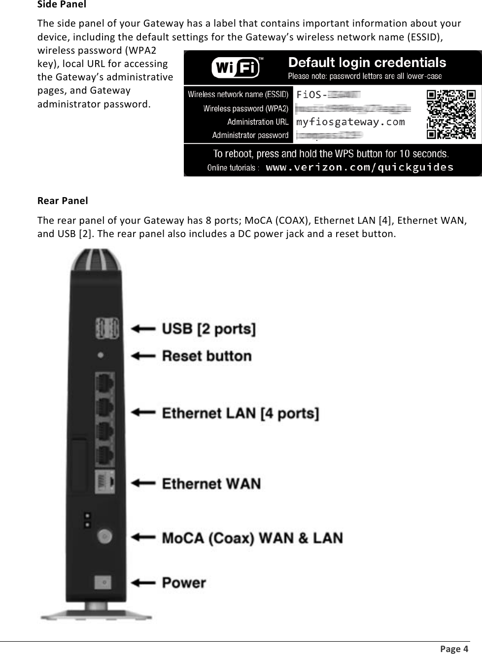 download manual for the verizon fios g1100 router