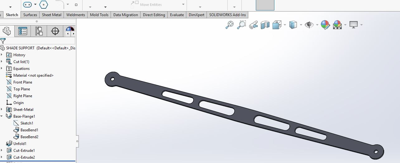 manually adjust weight of solidworks model