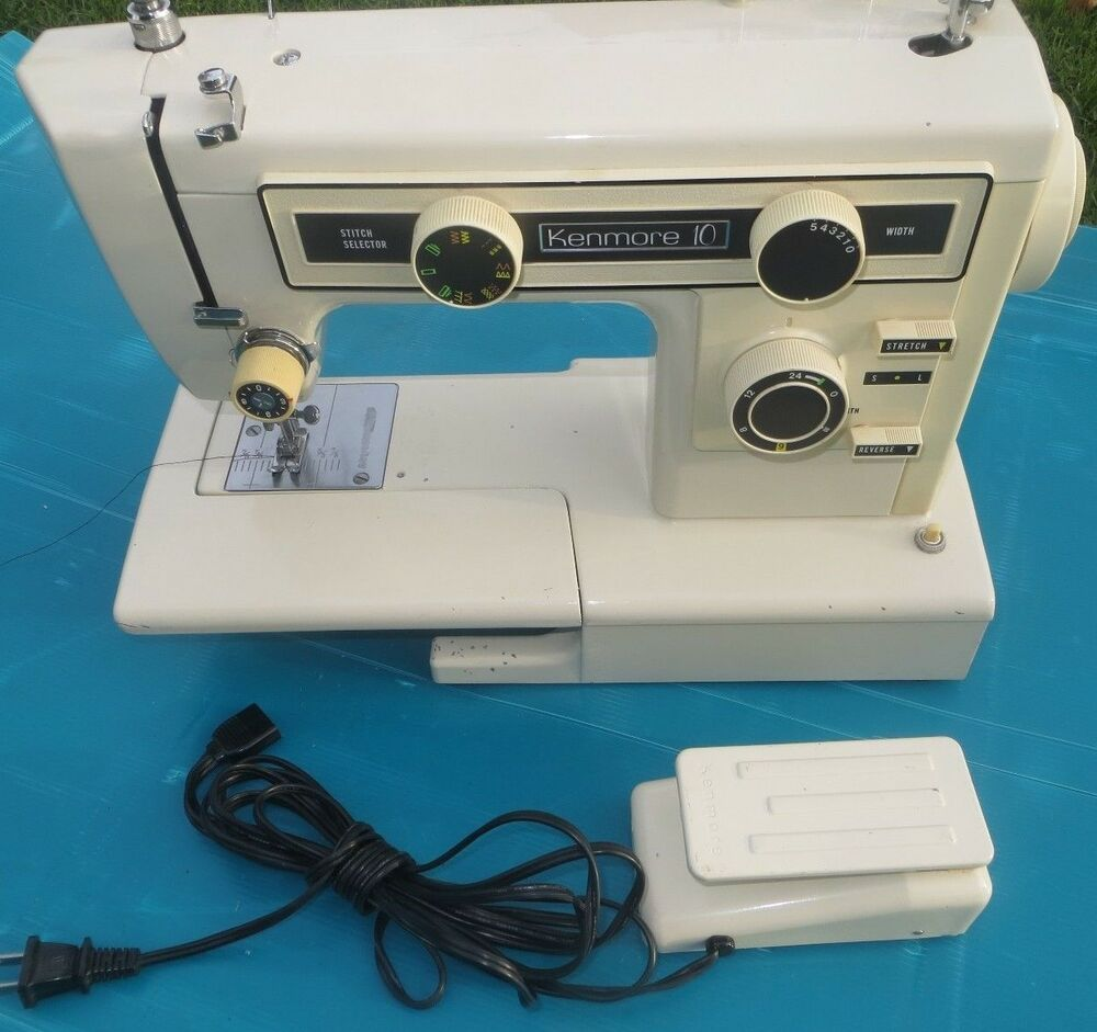 kenmore 10 stitch model 385 manual