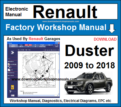 dacia duster user manual download