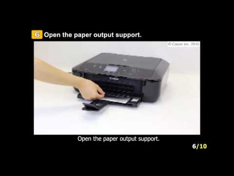 utube how to manually clean hp 7520 photo