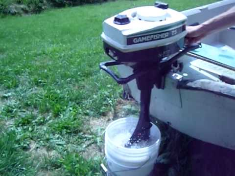 sears gamefisher 3 hp outboard owners manual