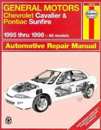 1998 pontiac sunfire repair manual free download