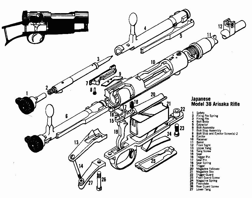 winchester model 94 assembly disassembly manual illustrated